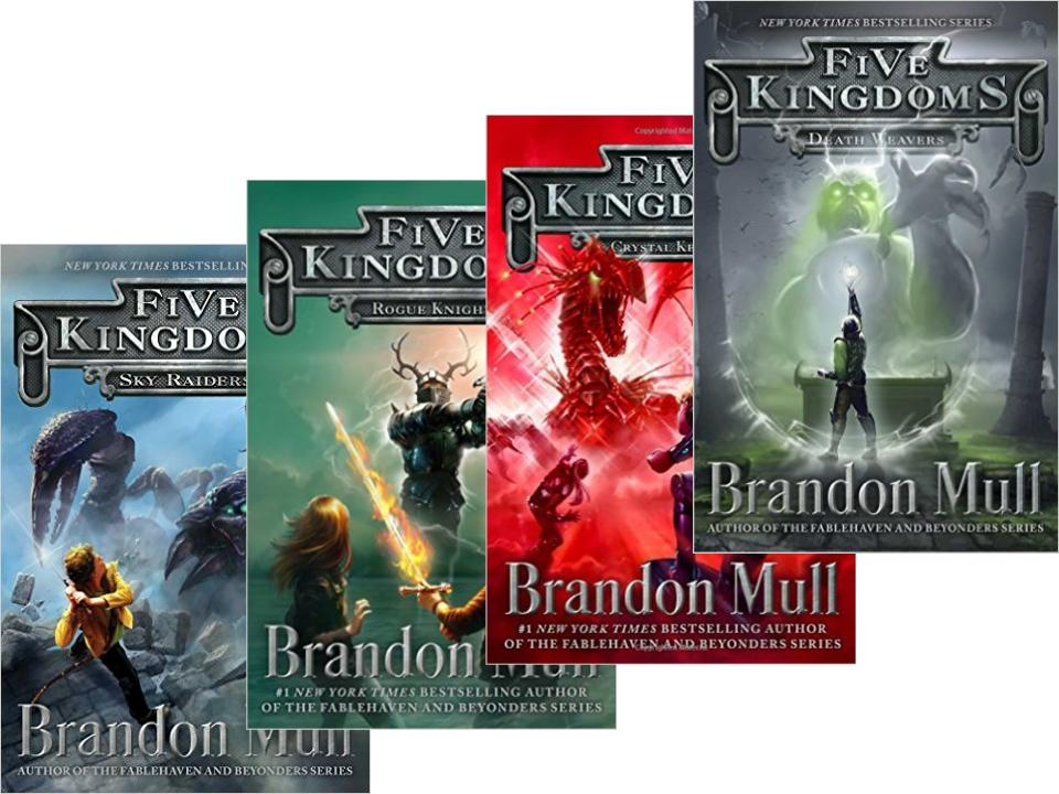 Five Kingdoms: Sky Raiders – Blog About a Book